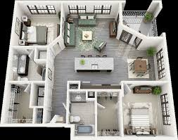 4 Bedroom Apartments In Maryland Concept Design Custom Design Ideas