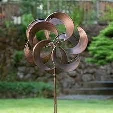 new garden art copper wind spinners 60