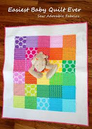 Baby Quilt Kits For Beginners Best Of Easy Baby Quilt Pattern For ... & Baby Quilt Kits for Beginners Best Of Easy Baby Quilt Pattern for Beginners  & Giveaway for Adamdwight.com
