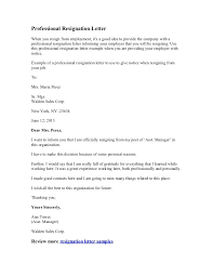 good letter of resignation professional resignation letter resignation letter for two weeks