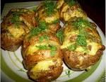 Картошка в духовке на гарнир рецепт пошагово 81