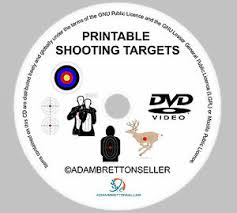 Details About Printable Shooting Targets On Dvd Cd Practice Air Rifle Bb Gun Bow Slingshot