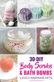 30 diy scrubs bath s lovely homemade gifts