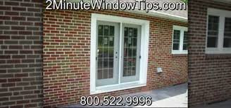 how to install patio doors in a brick wall construction repair wonderhowto