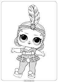 Dolls are so cute and make great coloring pages. Free Lol Surprise Doll Coloring Pages