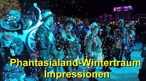 Phantasialand Wintertraum 2016/2017   Impressionen, Beleuchtung, Lichtshow    Show Darsteller
