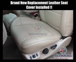 replacement seats for ford f150 lariat 2001 2002 ford f150 lariat supercrew passenger plete leather seat