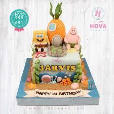 Pesan Kue Ulang Tahun Spongebob Toko Dan Vendor Kue Hova Cake Jakarta