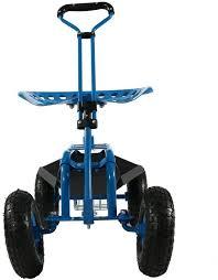 hormones garden cart rolling scooter