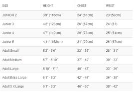 Crewsaver Size Chart Crewsaver Razor Child Drysuit Inc Underfleece 6565