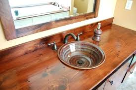 wood vanity top raiot handmad pottry workr wood vanity tops bathrooms wood vanity top