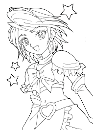 Chibi Anime Coloring Pages Anime Coloring Pages Printable Anime