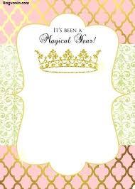 Princess Party Template Malebox Me