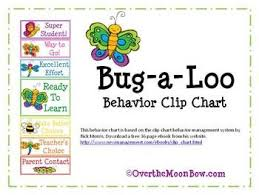 Clip Chart Behavior Management System Bug A Loo Behavior Clip Chart Behavior Clip Charts