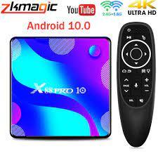 Tivi Box X88 PRO 10 Android 10 Smart TV Box 4GB 64GB Rockchip RK3318 1080P  4K 60fps Google Play Youtube Set Top Box Android TV BOX Thiết bị thu nhận  tín hiệu