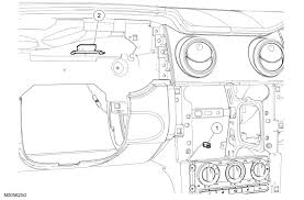 2007 mustang gt factory the antenna connection in the trunk diagram graphic