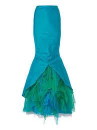 Mermaid Skirt Pattern Beauteous Mermaid Skirt Costume 482484 48 Sewing Patterns BurdaStyle