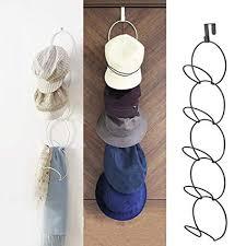 Over The Door Hat Rack Impressive Amazon Over The Door Hat Racks For Baseball Caps Hanging Hat