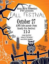 halloween sale flyer ame fall festival