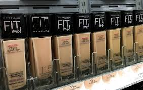 Maybelline Fit Me Foundation Review Dewy Smooth Matte