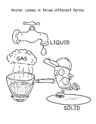 Free Water Cycle Worksheets Water Cycle Coloring Page Earth Science