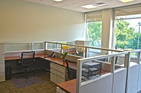 shared office space design. 4-Seat Shared Office Space Design H