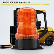Forklift Dash Warning Lights 10 110v 30 Leds Flashing Rotating Bulb Strobe Forklift Warning Light