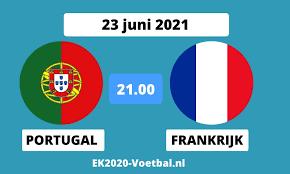 Talkshow waarin de laatste ontwikkelingen op de voetbalvelden worden besproken. Portugal Frankrijk Ek 2021 Opstelling Live Tussenstand Ek Voetbal