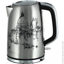Серебристый <b>чайник</b> 1.7 л <b>Polaris PWK 1763CA</b> Italy - обычный ...