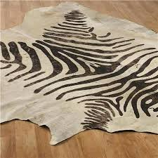 delightful faux animal rugs for eye catching faux zebra rug of diy decor fix baginallkinds faux
