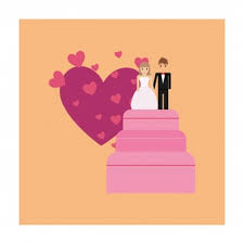 Wedding Cake Topper Vectors Photos And Psd Files Free Download