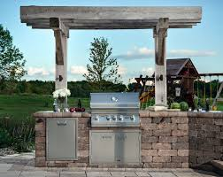 Modular Outdoor Kitchens Lowes Outdoor Living By Belgard Ideas Tips How Tos For Outdoor