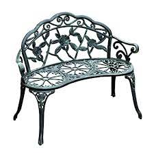outsunny garden bench loveseat with