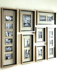 large picture frames on wall large multi picture frames wall collage photo best images on with
