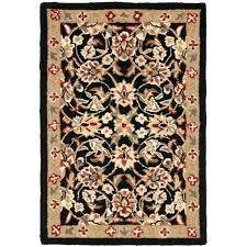 hand hooked wool rugs hand hooked black ivory wool rug do hand hooked wool rugs shed