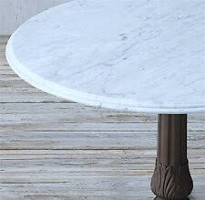 American and italian design of the 1970s informs the proportions and flat planes of our table from designer timothy oulton. Restoration Hardware Medium Rectangle Marble Plinth Coffee Table White For Sale Online Ebay