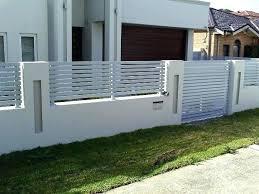 fence design. Modern Fence Design