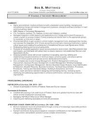... Change Manager Resume Inspirational Change Management Resume Examples  ...