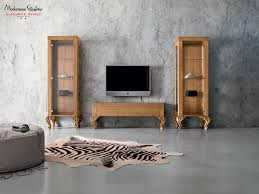 Walnut Living Room Furniture Laquered Walnut Living Room Designed In Minimalist Style Living