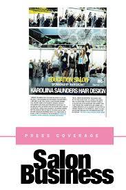 Cachet Hair Design Education Salon Sponsored By Remi Cachet Karolina Saunders