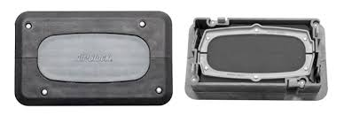 rectangular rubber gasket. the air-block is a heavy duty split edpm rubber gasket cable grommet system for sealing around openings going through access flooring. rectangular