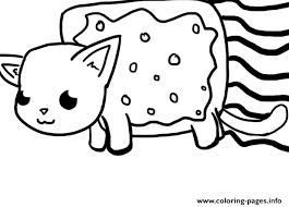Nyan Cat Big Coloring Pages Printable