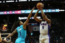 Pistons vs. Hornets final score ...