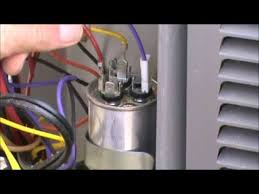 hvac training dual capacitor checkout youtube Nordyne Package Unit Wiring Diagrams Nordyne Central Air Unit Wiring Diagrams hvac training dual capacitor checkout