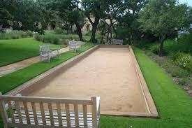 backyard bocce ball how to build a court design