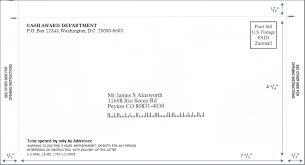 pressure seal mailer front