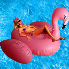 water air mattress. Fine Mattress 2018 Inflatable Beach Float Air Mattress For Water Swimming Pink Flamingo  Made From Elastic Wear Proof Material Large Size 190x130x130cm Micter  On S