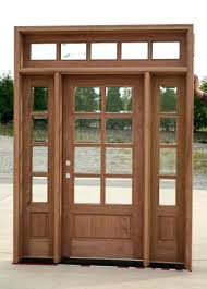 Decorating wood front entry doors with sidelights images : Front Doors : Wood Leaded Glass Entry Doors Antique Cherry Stained ...