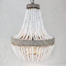 chandelier with wooden beads awesome home decor white surprising pendantht photo inspirations fixturehting wood