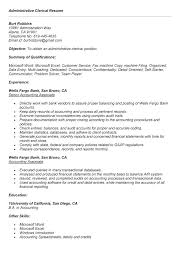Clerical Resume Sample Best of Sample Resume For Clerical Position Resume Sample Clerical Office